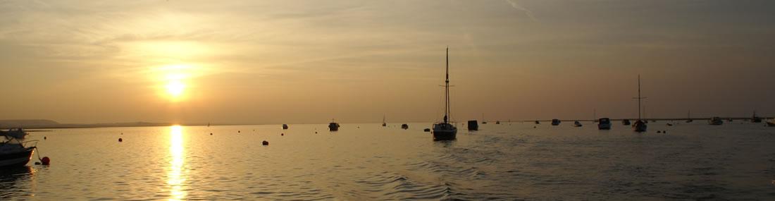 Blakeney Point at sunset