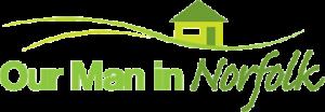 Our Man in Norfolk Logo